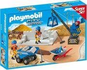 Super Set Baustelle Playmobil 6144