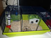 Hamsterkäfig Nagerkäfig inkl 2 Zwerghamster