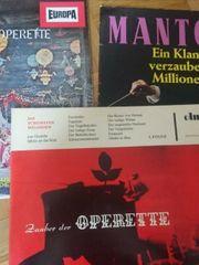 Schallplatten - Operette Klassik