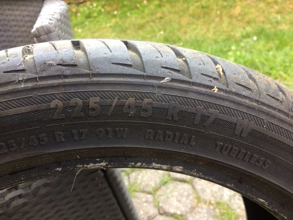 1 Reifen Gebraucht