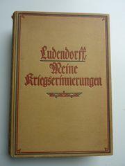 Ludendorff Kriegserinnerungen
