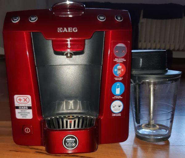 AEG Kaffeekapselmaschine Favola LM5400 A