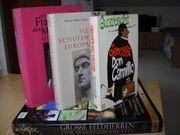 Diverse Bücher und Sachbücher
