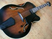 Jazzgitarre Gitarre Semiakustik Archtop