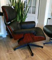 Eams Lounge Chair mit Ottoman -