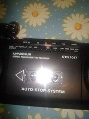 UNIVERSUM CTR- Radio Kassettenrecorder