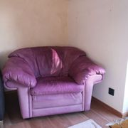 Gemütlicher Leder-Sessel