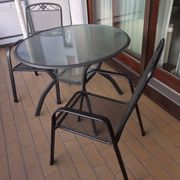 Balkontisch mit 2 Stühlen