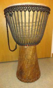Orginal Afrikanische Busch-Trommel Djembe
