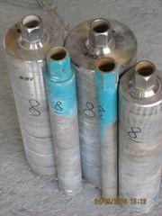 5 gebrauchte Bohrkronen (