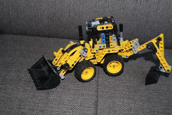 LEGO Technic 42004 - Mini-Baggerlader