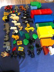 viele verschiedene Lego Duplo Steine