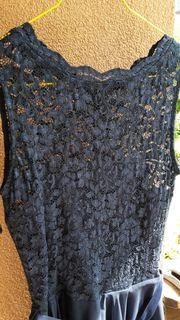 Coctailkleid Gr 36 dunkelblau