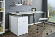 NEU Schreibtisch Compact weiss 160x80x70