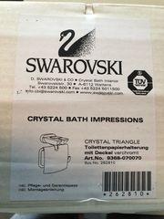 Swarovski Seifenspender u WC Rollenhalter