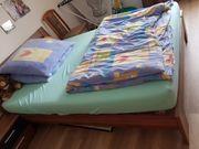 Tausche großes komplettes Bett gegen