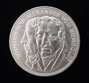 5 - DM Silbermünze Humboldt 1967