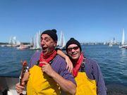 Schiffsausfahrten Seemannslieder Hafenrundfahrt Musiker Sänger
