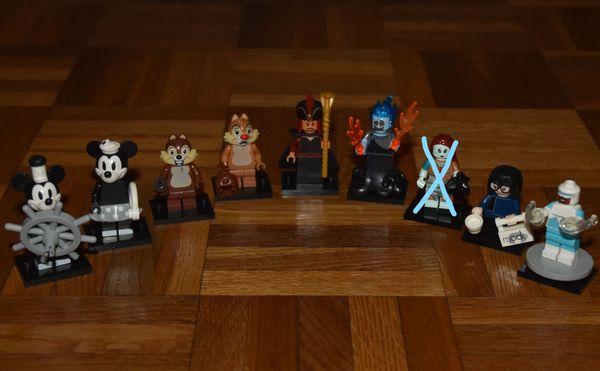 LEGO 71024 71023 Minifigures Disney