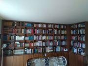 Bibliotheksauflösung Bücher Bibliothek Regalwand