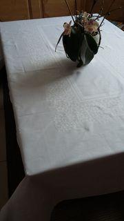 Baumwolltischdecken weiß