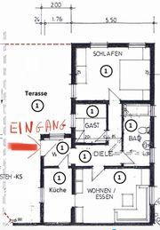 2 5 Zimmer-Wohnung mit Tarasse