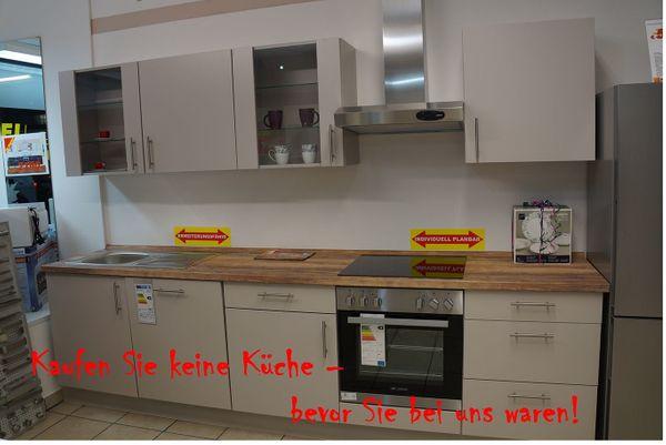 Küchenzeile von NOBILIA 300 cm
