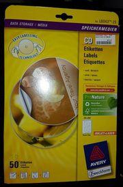 30 Etiketten Zweckform L6043 CD