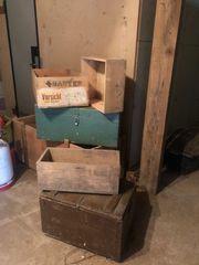 Alte Schatz Kisten