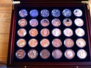 10 Euro-Münzen alle Prägungen 2002-2015
