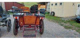 Zubehör Reit-/Pferdesport - neuwertige Wagonette in rot