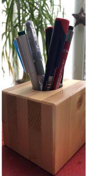 Stifthalter aus Holz Ordnung im
