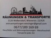 Räumungen und Transporte