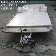 Plattformanhänger ca 578x210 1300 ZGG