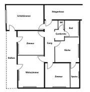 Großzügige 120 Quadratmeter Wohnung im