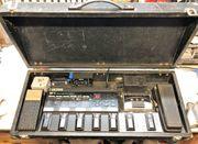 Komplettes Gitarren-Effektboard mit BOSS ME-5