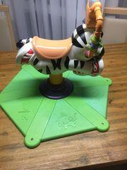 Hüpfpferd in Zebra von Fischer