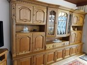 Wohnzimmerschrank Eiche rustikal