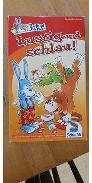 Lustig und schlau Schmidt Spiele