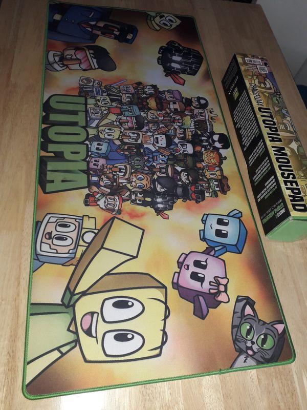 Gaming Mousepad Minecraft Utopia