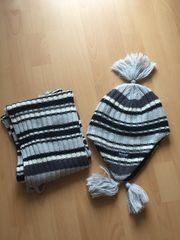 Set Schal Mütze