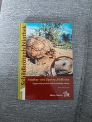Panterschildkröte Spornschildkröte Holger Vetter Schildkrötenbibliothek