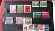 Verkaufe ein Briefmarkenalbum. (