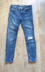 Neue Destroyed- Jeans von ZARA