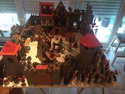 Playmobil Ritterburg mit Erweiterungsteilen und