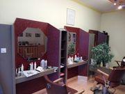 Einrichtung von Friseursalon Retro aus