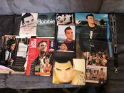 Robby Williams Fan Artikel Sammlung