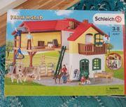 Schleich Farm World Haus Stall