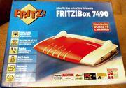 Fritzbox 7490 mit Restgarantie