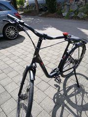 schönes hochwertiges Fahrrad neu gekauft